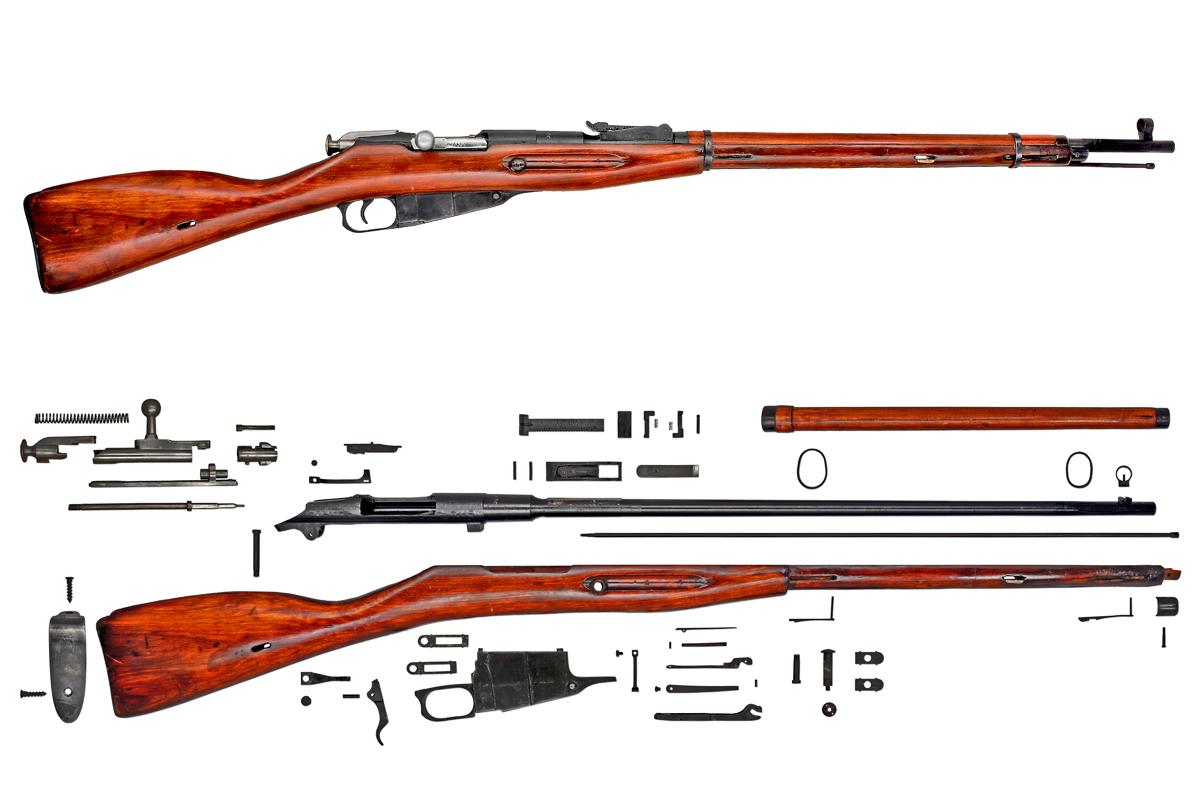 Series >> Anatomy: Russian Rifle Mosin-Nagant M91/30 – C&Rsenal
